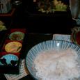 冷や汁定食と地鶏焼き